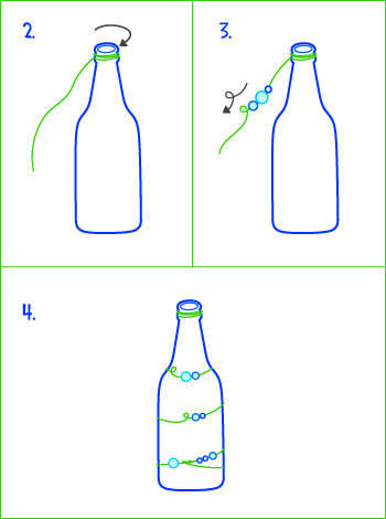 glass vase instructions